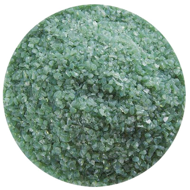 5 Oz Mineral Green Opal Medium Frit - 90 COE