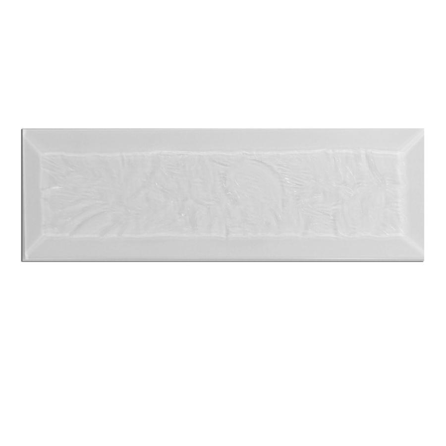 2 x 6 rectangle glue chip bevel