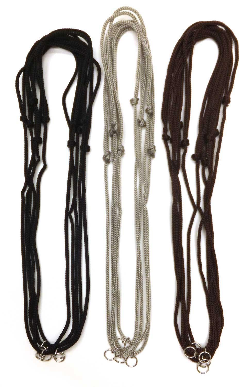 Adjustable Sport Cord Necklace Assortment - 14 Pack