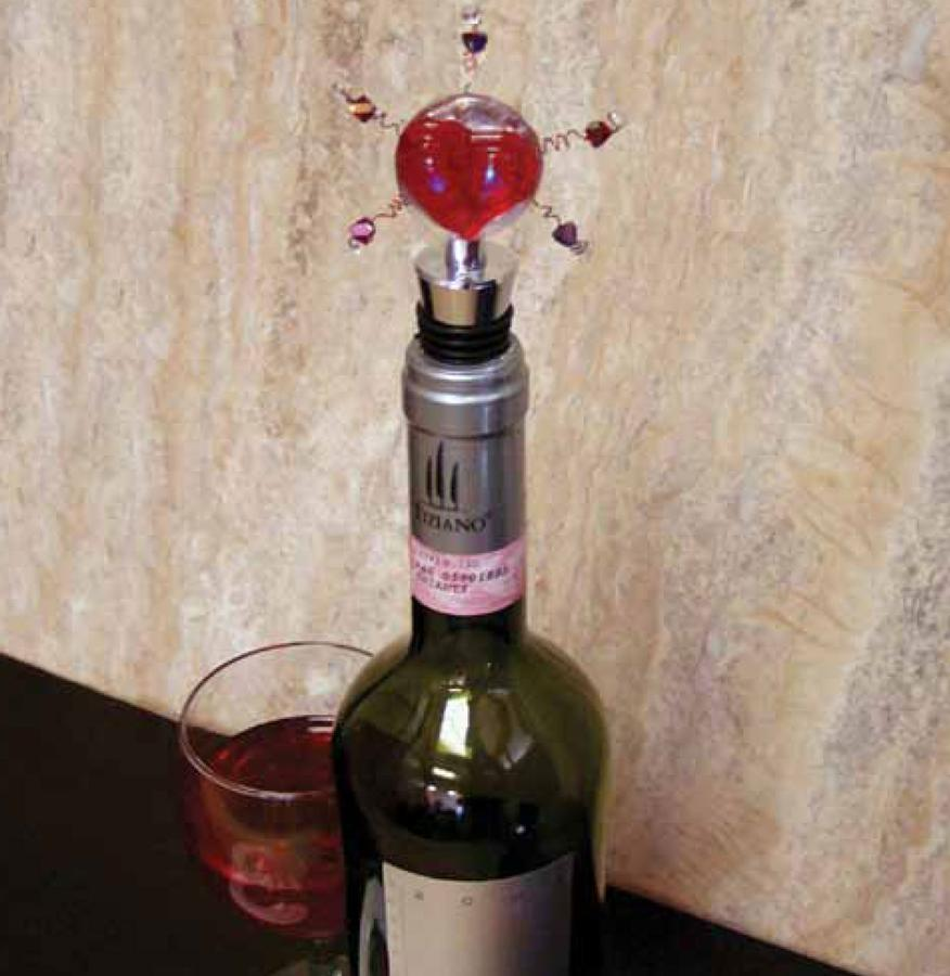 Free Heart Throb Bottle Stopper Project