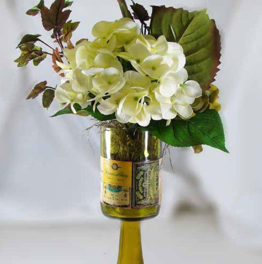 Free Tuscany Wine Bottle Vase