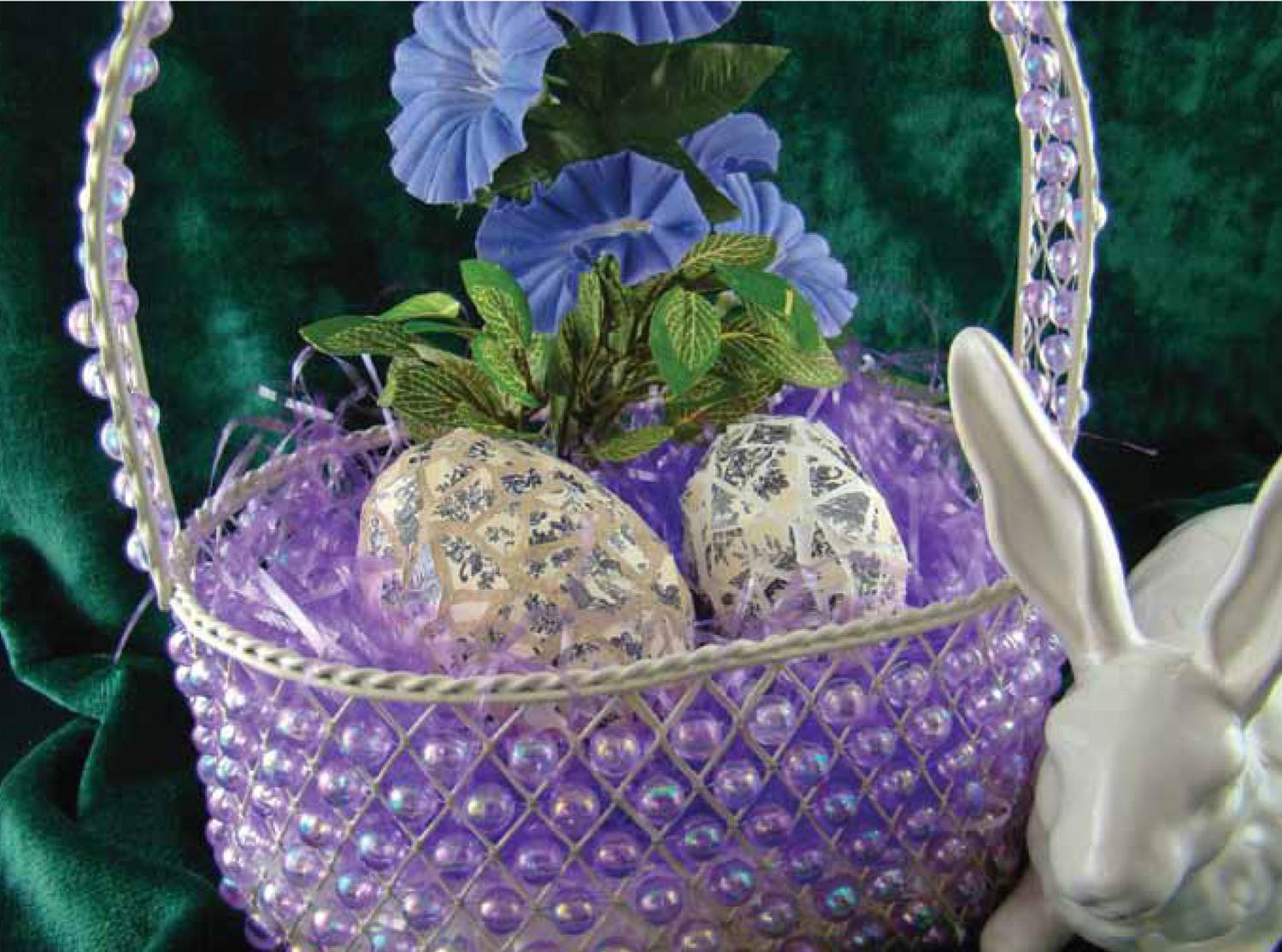 Free Vintage Mosaic Eggs Project