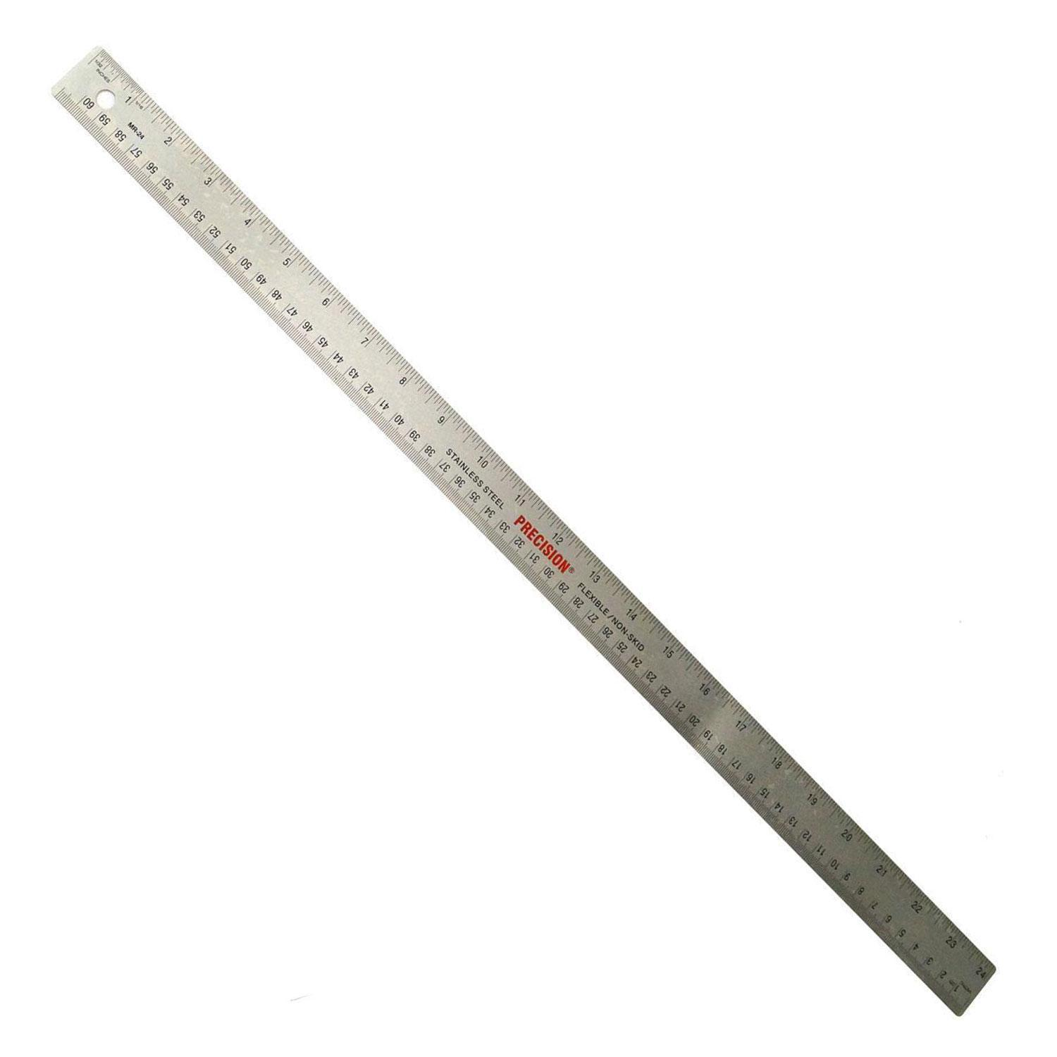 Cork Backed Stainless Steel Ruler
