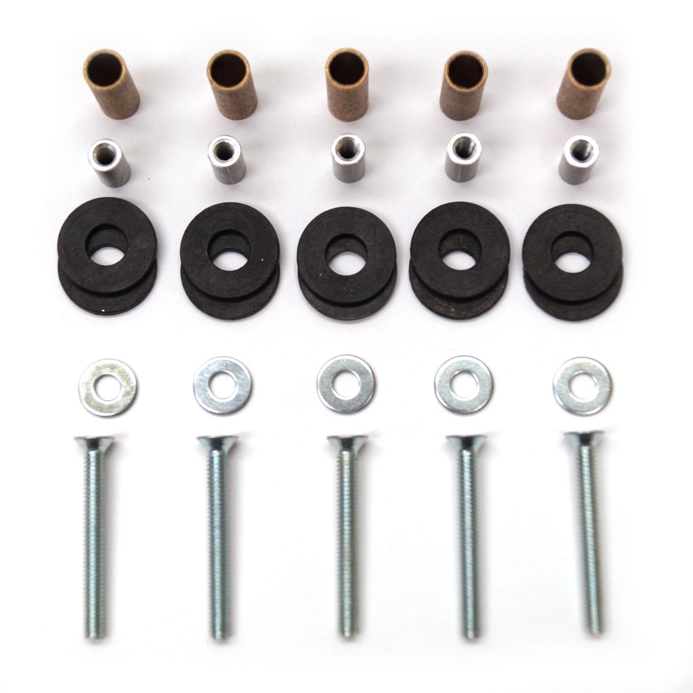 Pinwheel Hardware Kit