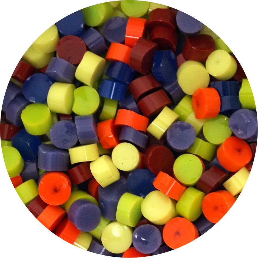 Rainbow Dot Assortment - 90 COE