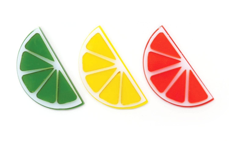 Fruit Slices Fusible Pre-Cut Assortment 3 Pack - 90 COE