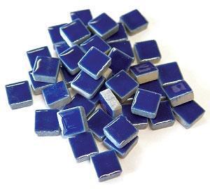 3/8 Royal Blue Ceramic Tile - 1 lb