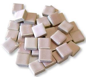 3/8 Pink Ceramic Tile - 1 lb