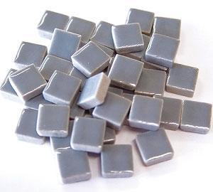 3/8 Light Gray Ceramic Tile - 1 lb