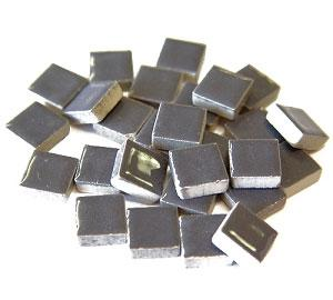 3/8 Gray Ceramic Tile - 1 lb