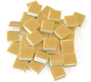 3/8 Tan Ceramic Tile - 1 lb