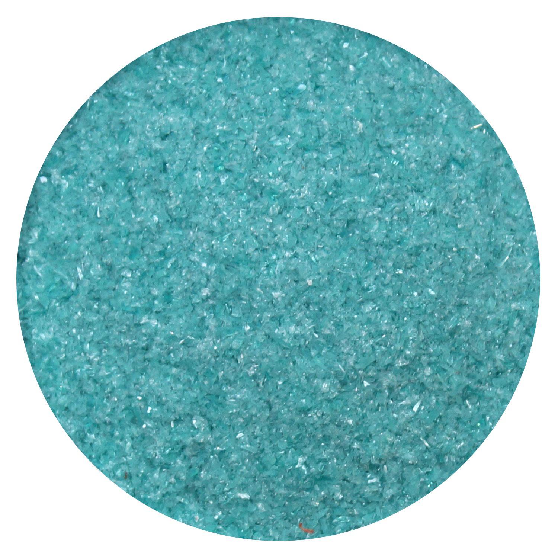 8.5 Oz Peacock Green Opal Frit Fine - 96 COE