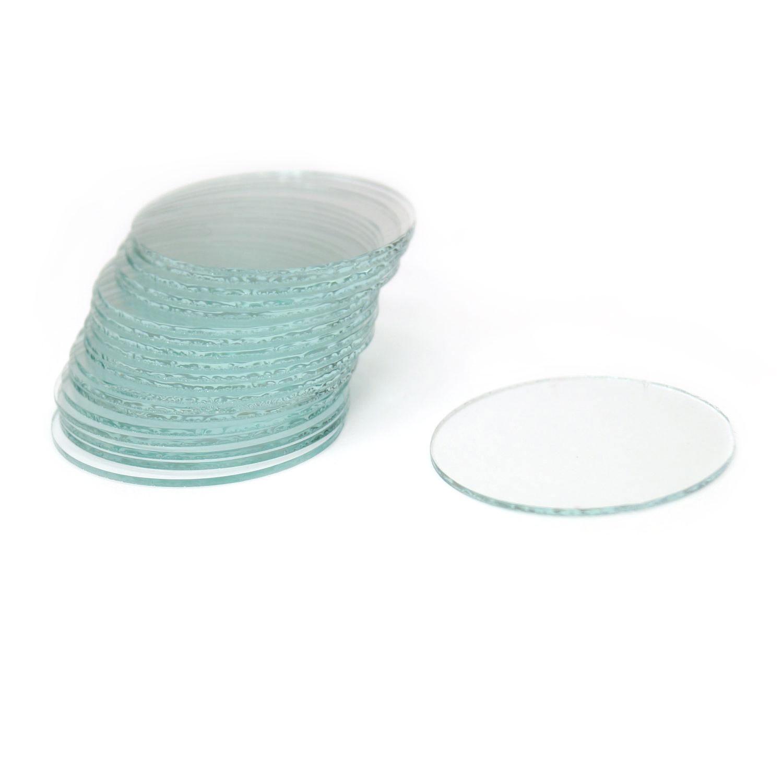 1-1/2 Round Micro Thin Glass - 20 pack