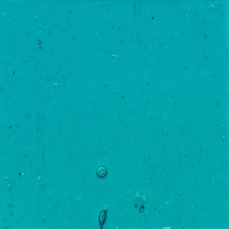 Kokomo Light Turquoise Blue Seedy Transparent