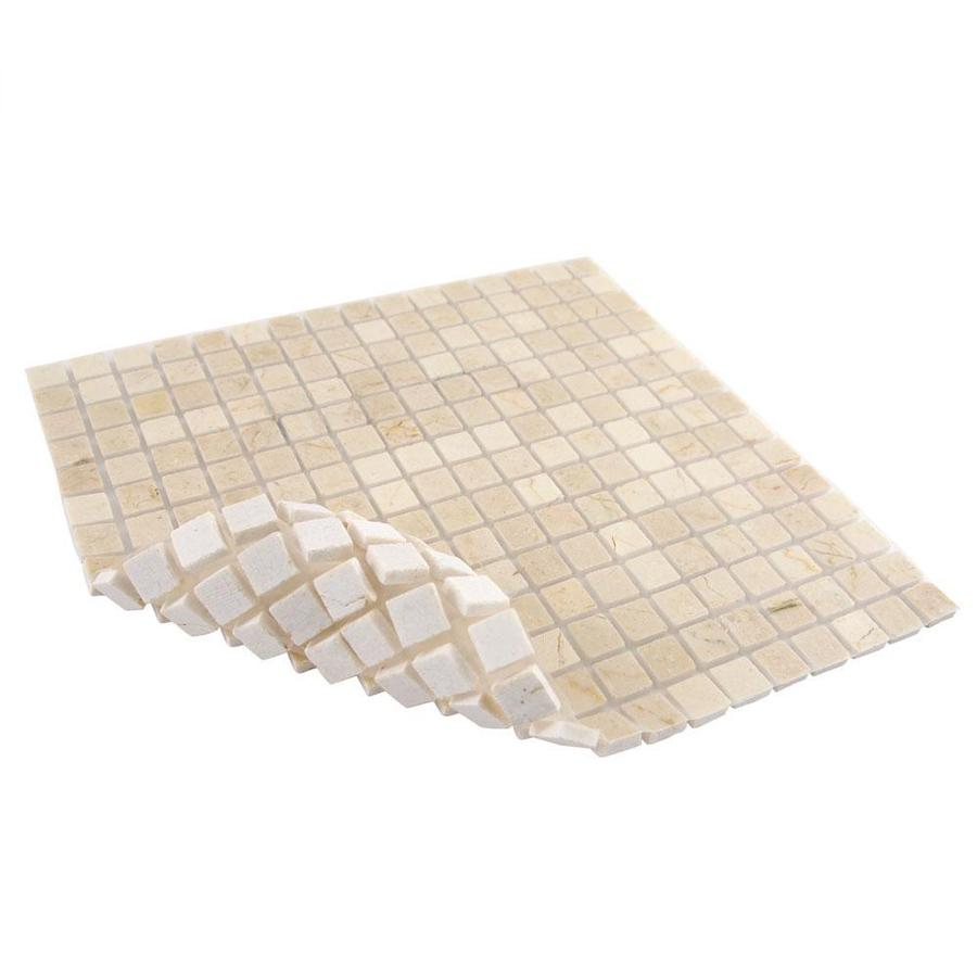 9/16 Crema Marfil Polished Marble Tile