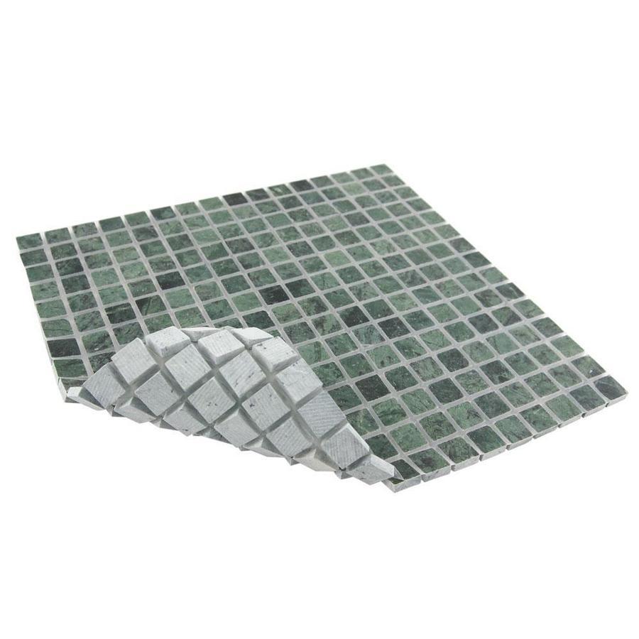9/16 Dark Green Polished Marble Tile