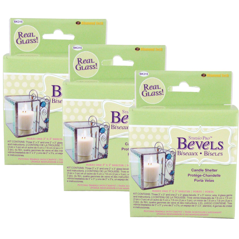 Candle Shelter Bevel Kit - 3 Pack
