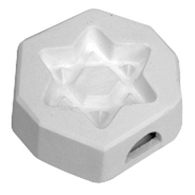 Open Star of David Mold