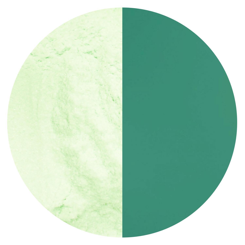 96 COE Frit Oceanside 8.5oz Powder Apple Jade Opal