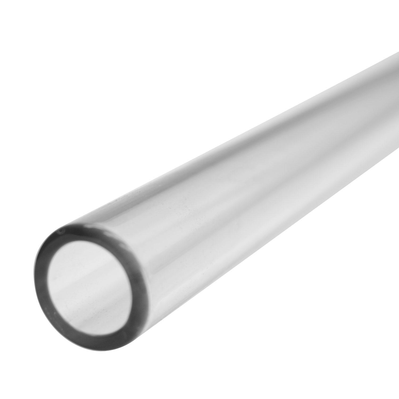 22mm Clear Simax Tube, 3mm Wall - 33 COE