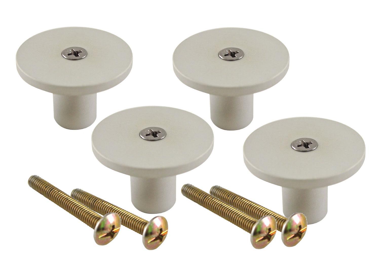 1 1/2 Round Knob - 4 pack