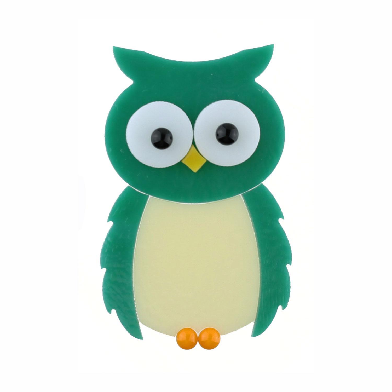 Teal Owl Fusible Pre-Cut - 90 COE