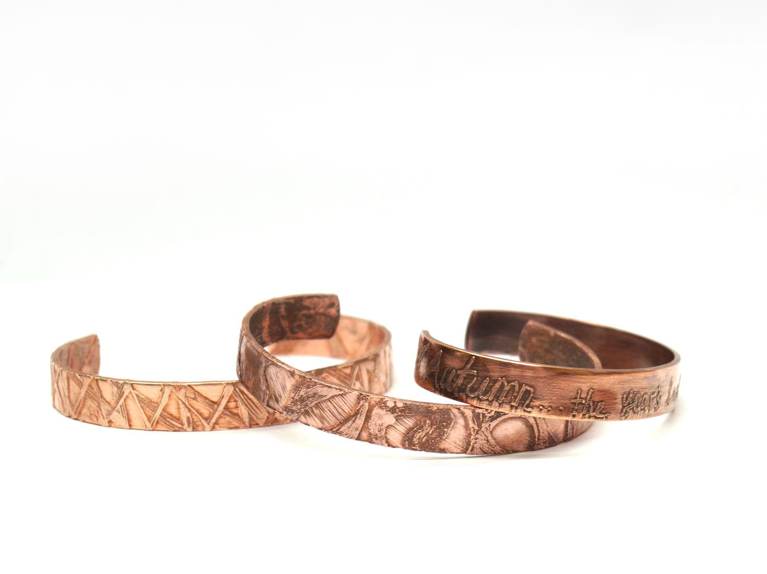 Free Etched Copper Jewelry Project Guide