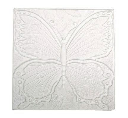 Square Butterfly Picture Texture Mold