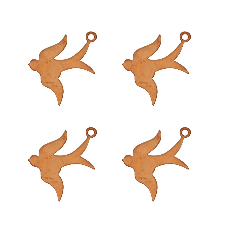 Swallow Copper Shape - 4 Pack