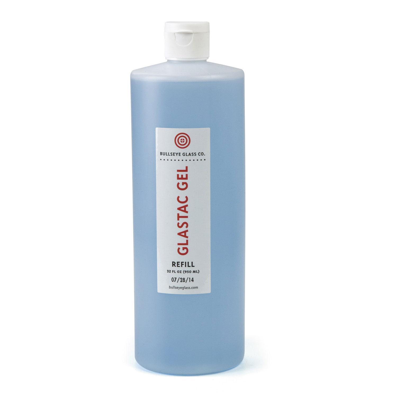 Bullseye Glastac Gel Fusing Adhesive 32 Oz Refill Bottle