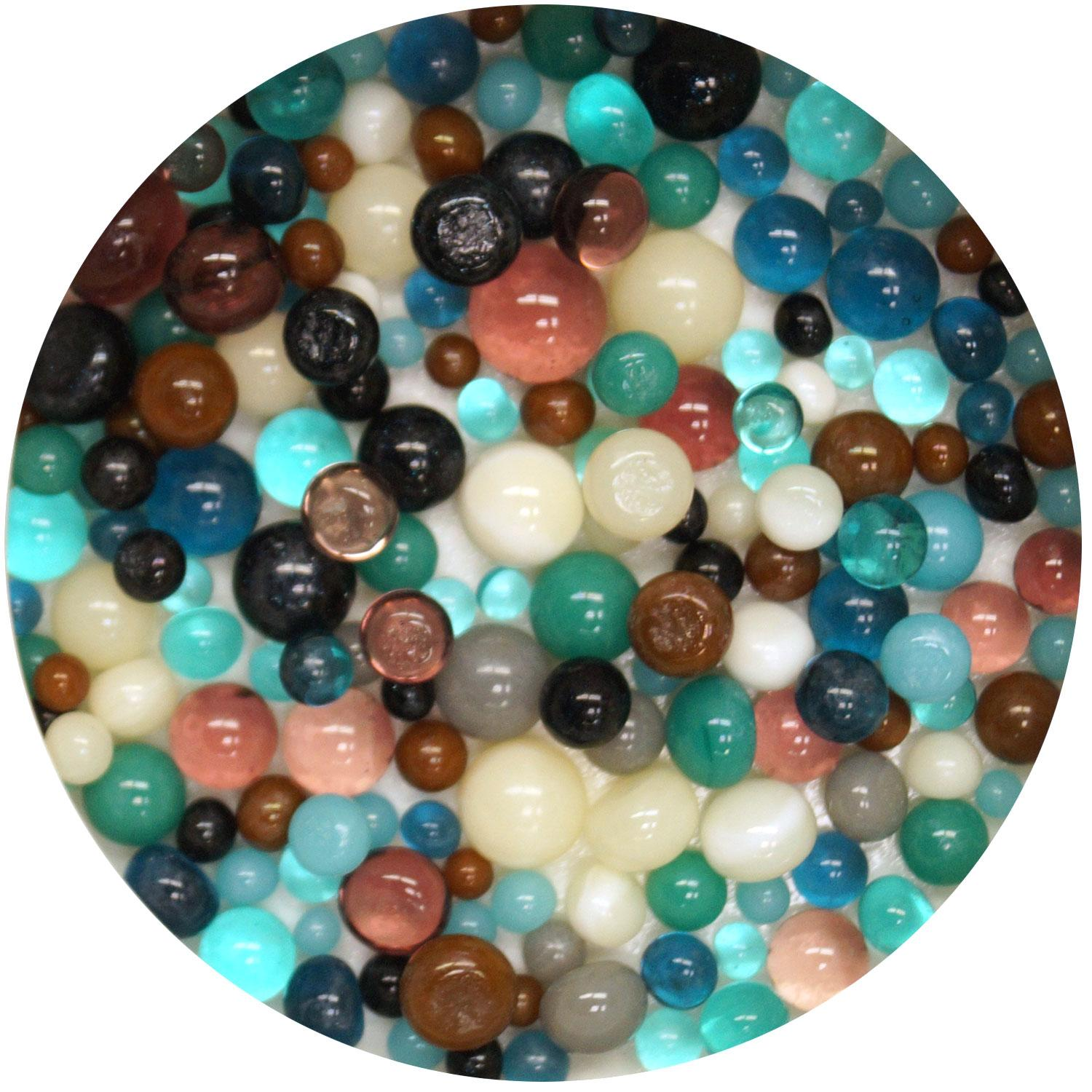 Seashore Frit Ball Assortment - 90 COE
