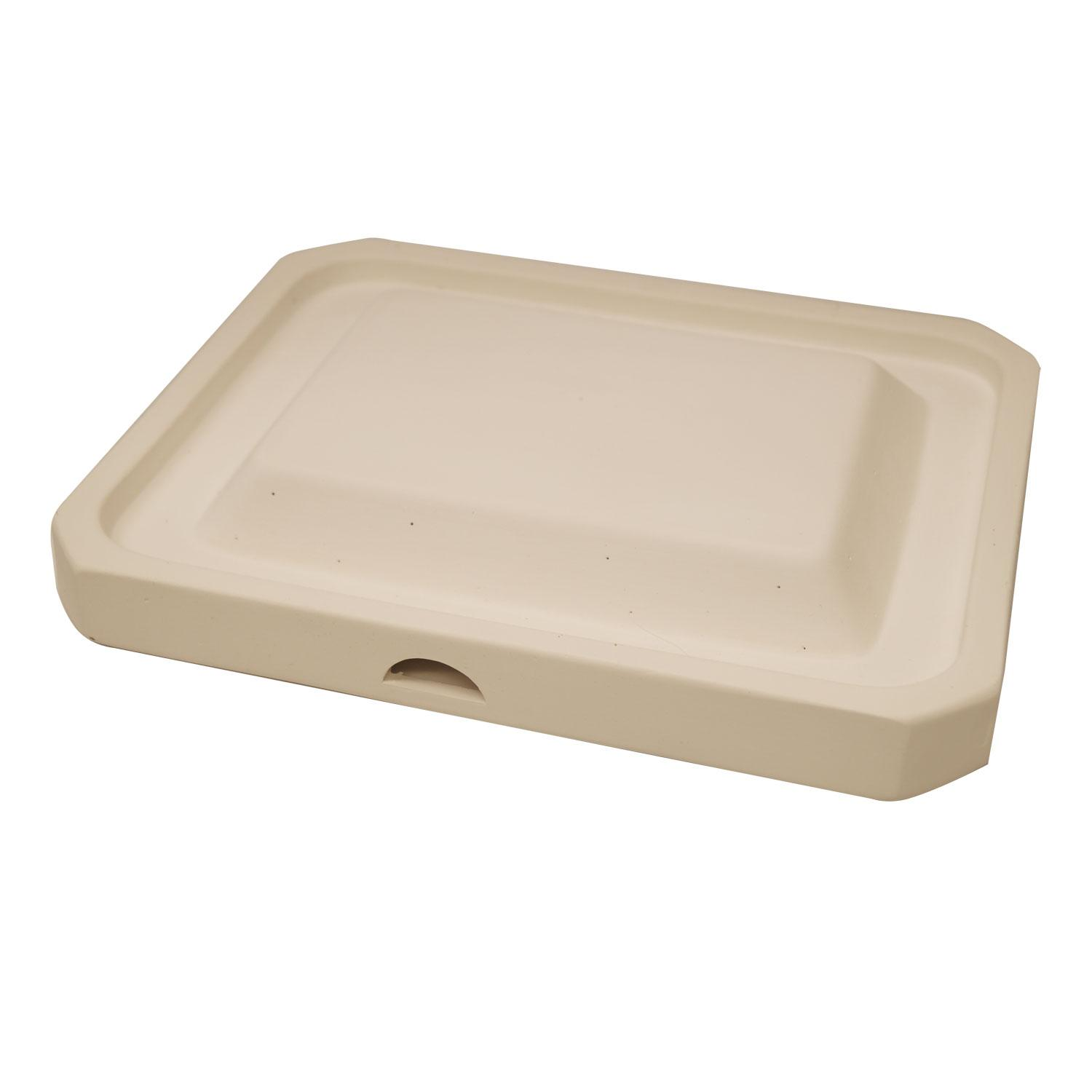 11-3/4 x 9-3/4 Rimmed Rectangle Dish Mold