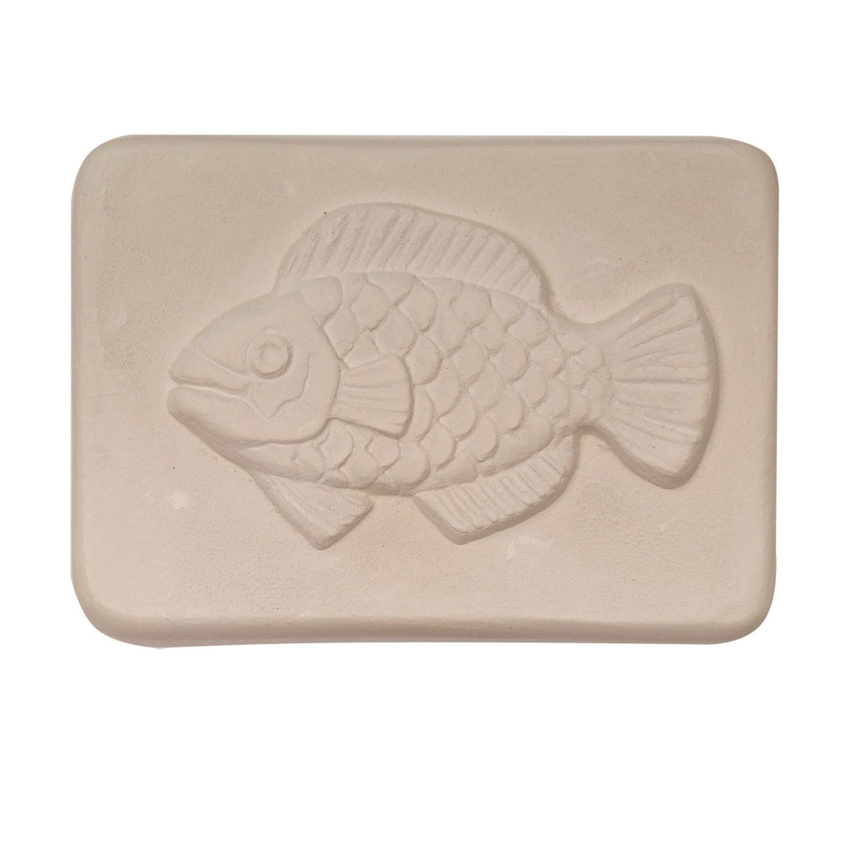 Delphi Studio Fish Impression Tile