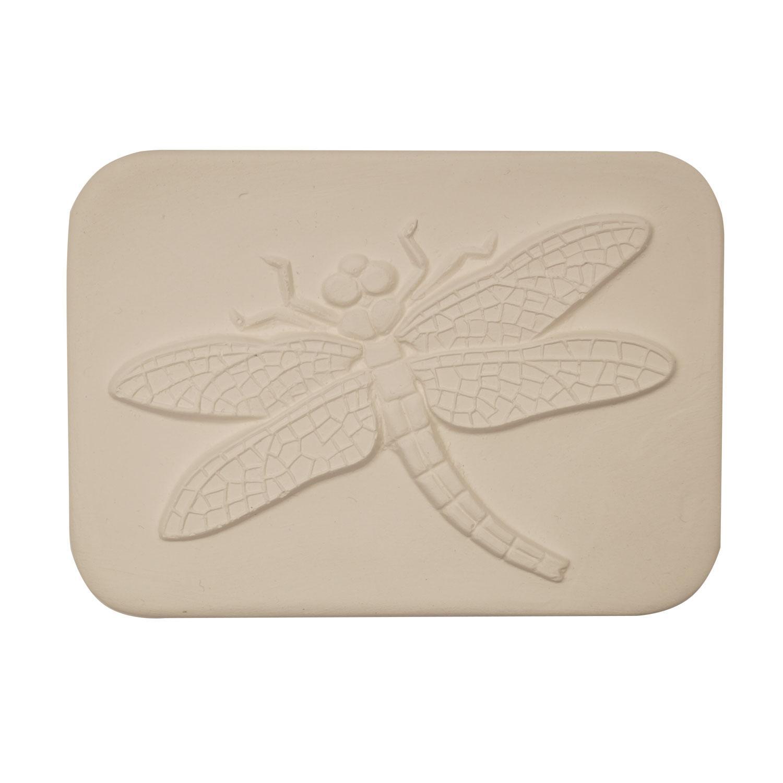 Delphi Studio Dragonfly Impression Tile
