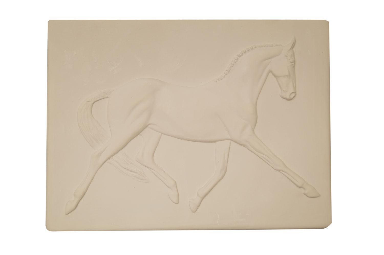 Delphi Studio Imprint Dressage Horse Tile