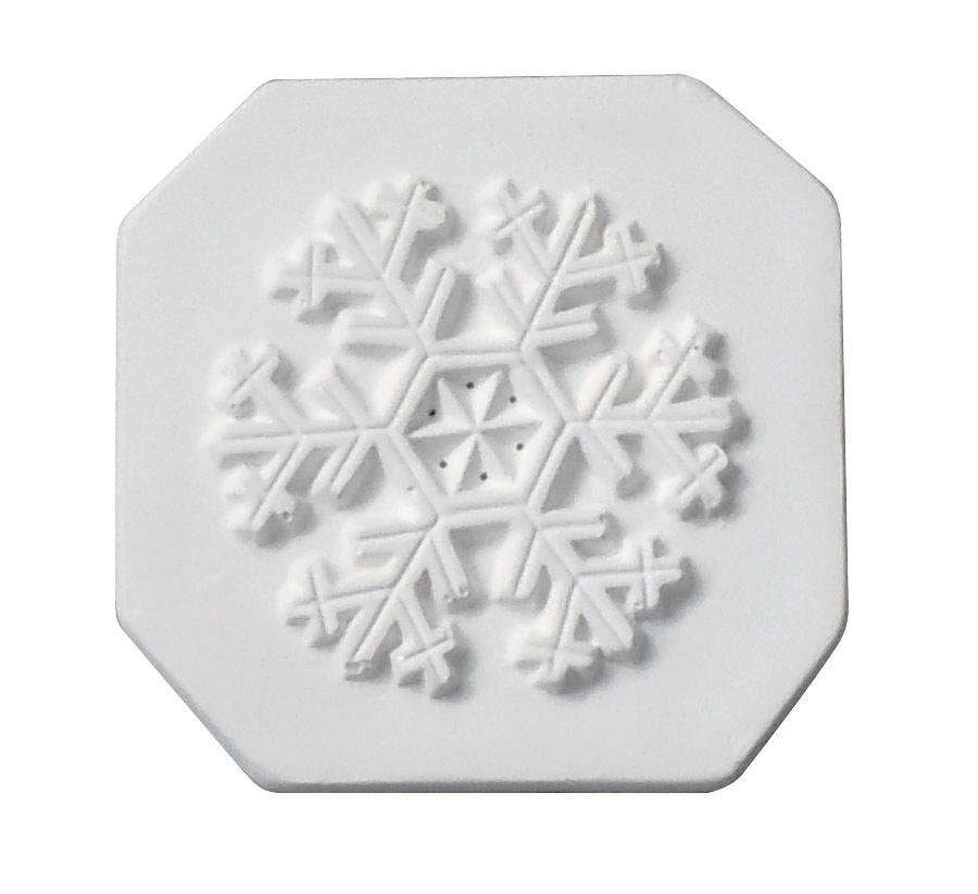 Delphi Snowflake Impression Tile