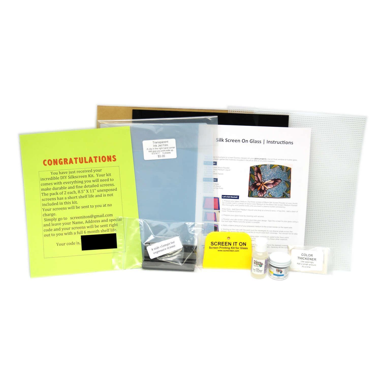 Glass Screen Printing Kit