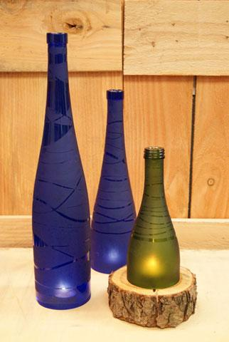 Free Upcycled Bottle Luminaries Project Guide