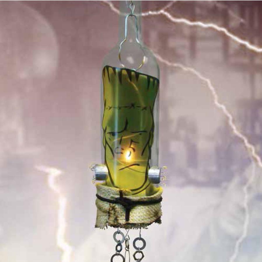 Free Frankenstein Monster Luminary