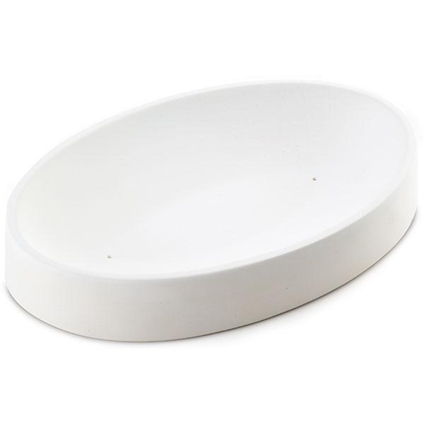 11-5/16 x 7-3/4 x 1-1/2 Oval Dish Mold