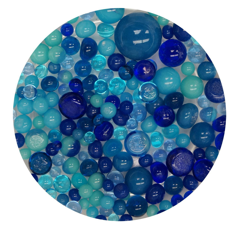 Breathtaking Blues Frit Ball Assortment - 96 COE