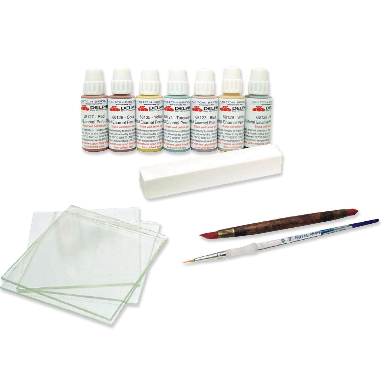 Delphi Glass Enameling Basic Kit