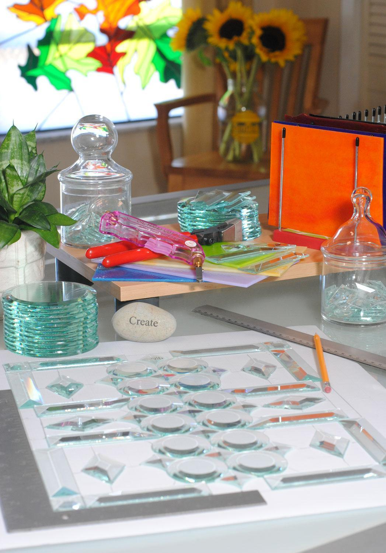 Free Beveled Glass Pattern