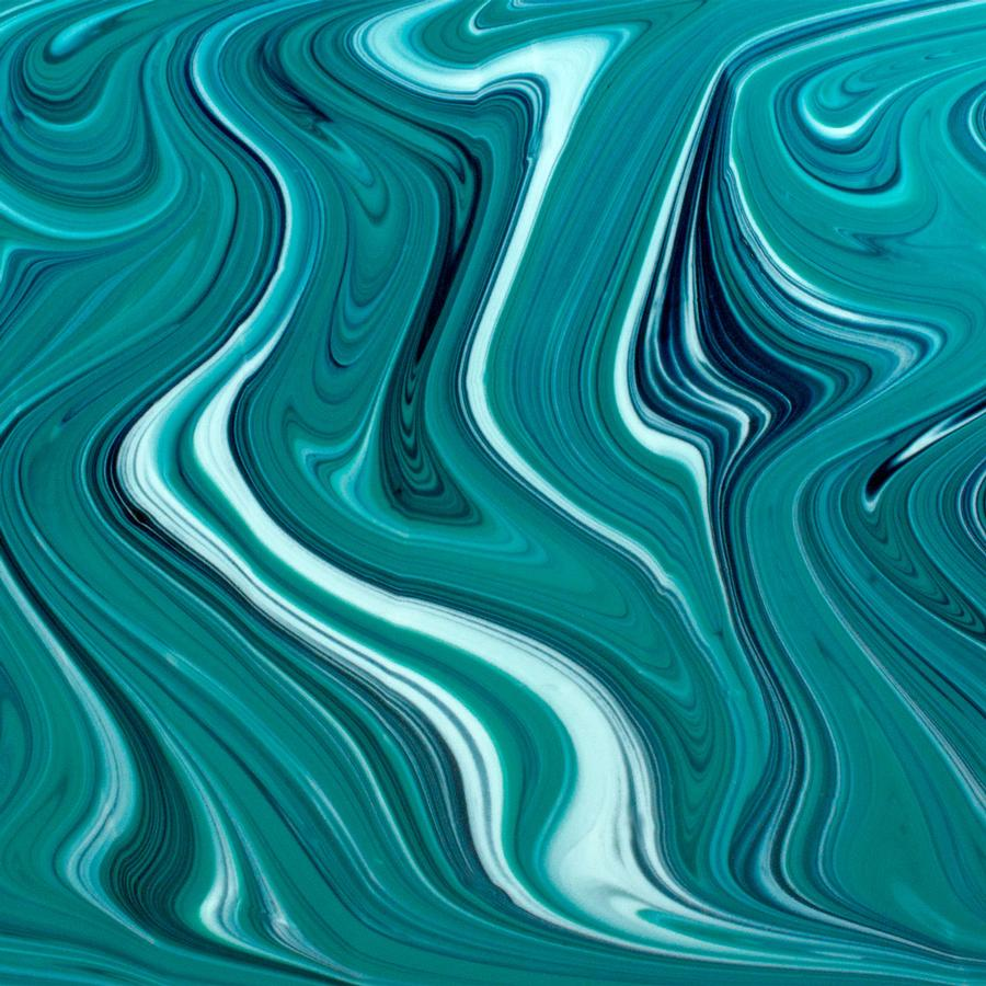 Oceanside Fusers Reserve Peacock Green, Aventurine Blue and White OpalArt - 96 COE