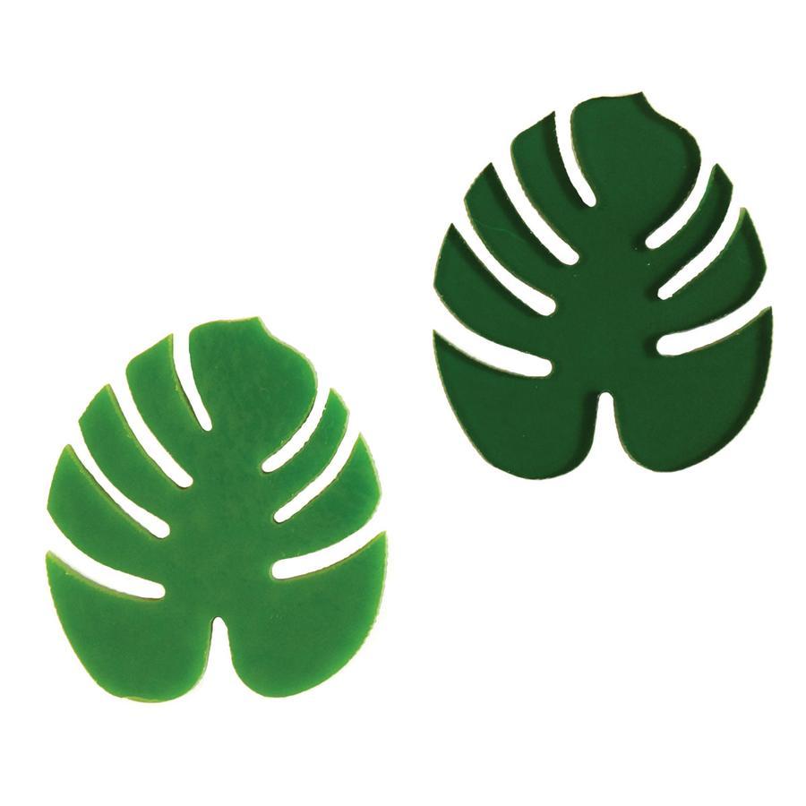 Tropical Leaf Fusible Pre-Cut 2 Pack - 96 COE