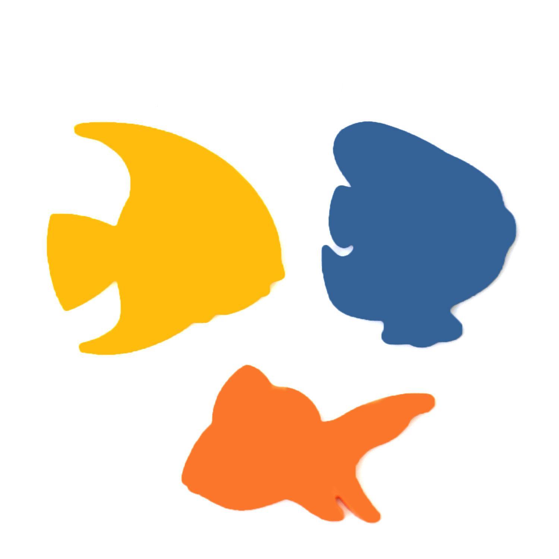 Tropical Fish Fusible Pre-Cut Assortment 3 Pack - 96 COE