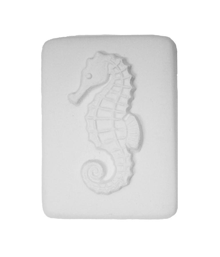 Delphi Studio Seahorse Impression Tile