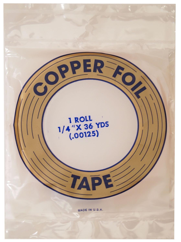 1/4 Edco Copper Foil - 1.25 Mil
