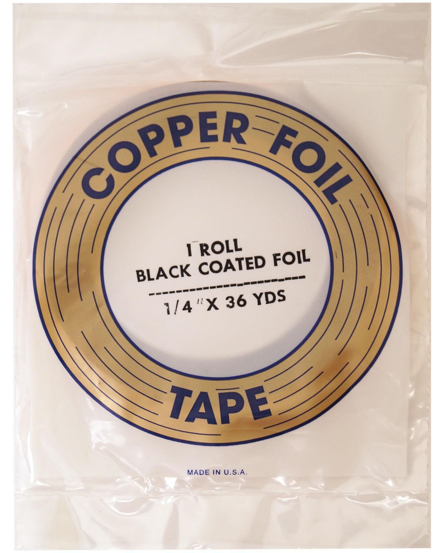 1/4 Edco Black Backed Foil - 1.25 Mil