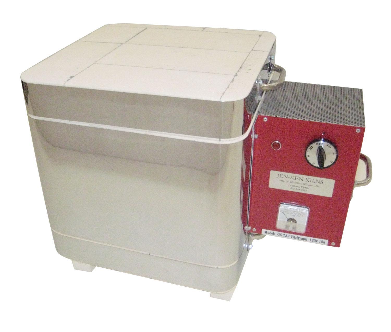 Vitrigraph Cube Kiln with Pyrometer